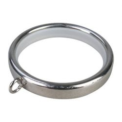 Silver Metal Silent Rings (pk of 5)