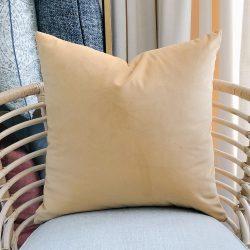Toss Pillow Swatch : Lush Gold