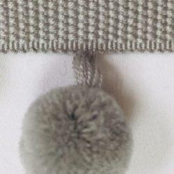 Luxe Pom Pom: Grey