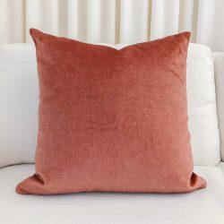 Toss Pillow Swatch: Lush Velvet Lipstick