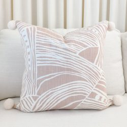 Toss Pillow Swatch: Lily Blush