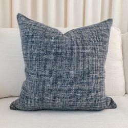 Toss Pillow Swatch: Morrow Indigo