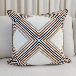 Toss Pillow Swatch: Square Dance