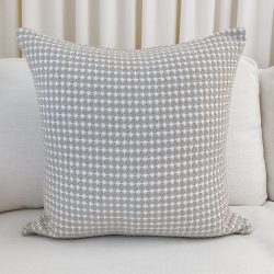 Toss Pillow Swatch: Eyelet Taupe