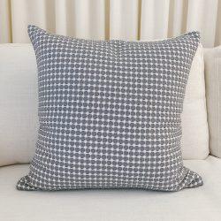 Toss Pillow Swatch: Eyelet Grey