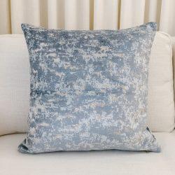 Toss Pillow Swatch: Seaside Velvet Blue