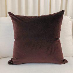 Toss Pillow Swatch: Lush Velvet Burgundy
