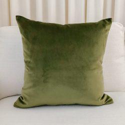 Toss Pillow Swatch: Lush Velvet Moss