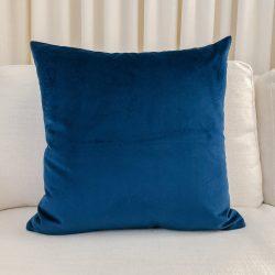 Toss Pillow Swatch: Lush Velvet Navy