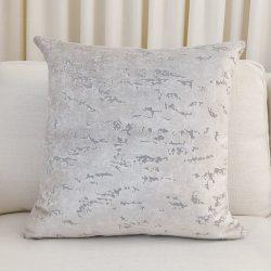 Toss Pillow Swatch: Seaside Velvet Cream