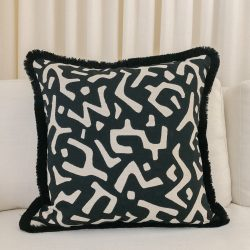 Toss Pillow Swatch: Puzzled