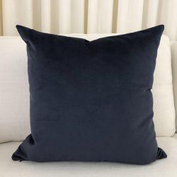 Toss Pillow Swatch: Lush Velvet Indigo
