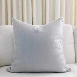 Toss Pillow Swatch: Pom Pom Dreams in Prism